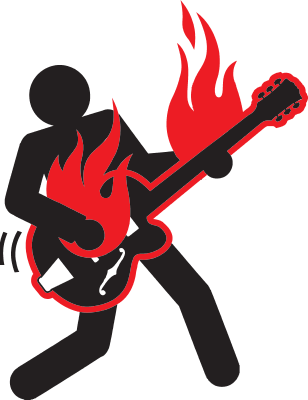 CAT_3-ROCK-FIGURE-FLAME-GUITAR
