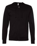 Lightweight Jersey Hooded Full-Zip