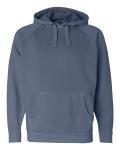 Pigment-Dyed Hooded Sweatshirt
