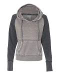 Ladies' Zen Fleece Raglan Sleeve Hooded Sweatshirt