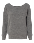Bella - Triblend Sponge Fleece Slouchy Wideneck Sweatshirt